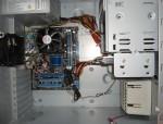 Материнская плата ASUS и система охлаждения XEON5460