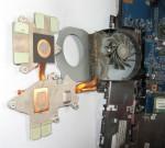 Радиатор и вентилятор ASUS Aspire 5542
